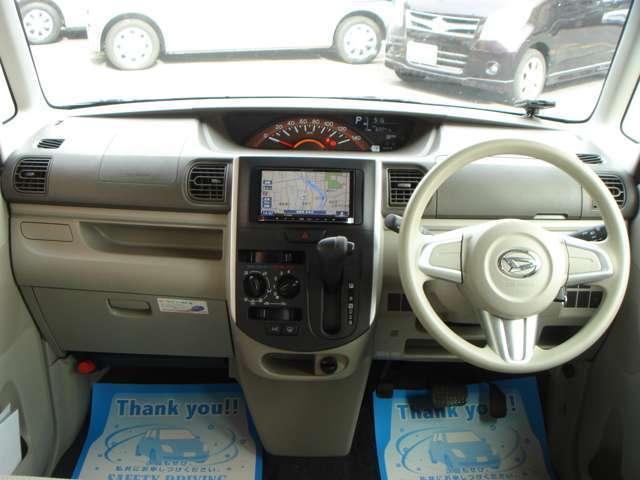 ダイハツ タント L 2WD 両側スライドドア ナビ ETC キーレス ABS