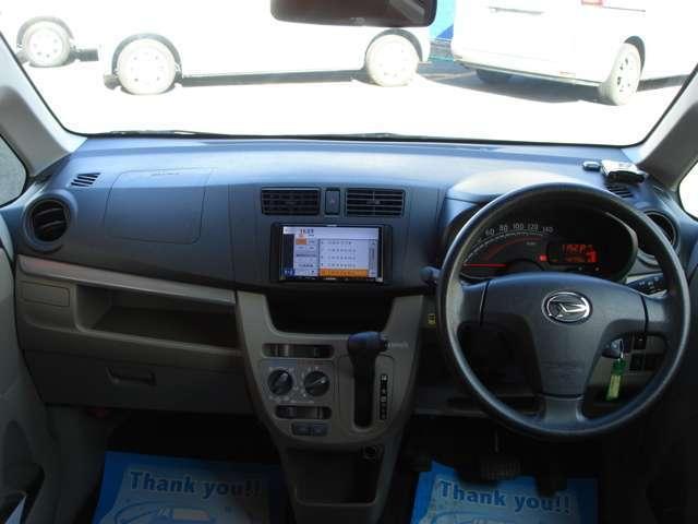 ダイハツ ムーヴ L SA 2WD インパネCVT ナビ ETC キーレス
