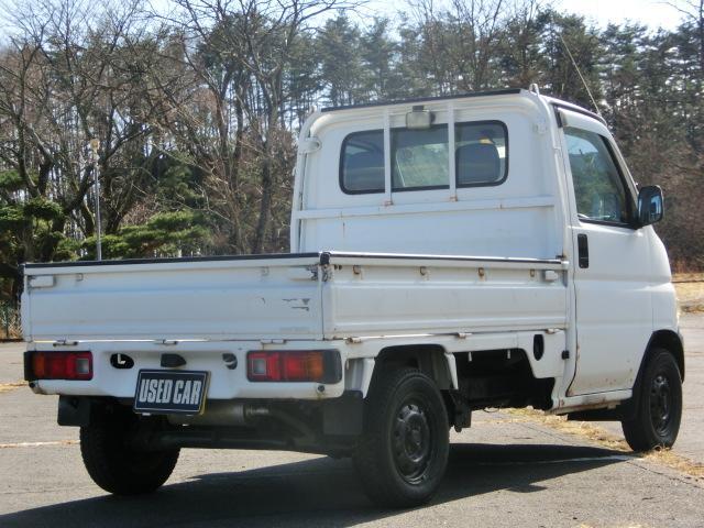 ホンダ アクティトラック 4WD パワステ 5速MTミッション