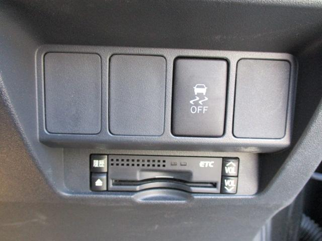 有料道路で役立つETCが装備されています。これで長距離も安心ですね。