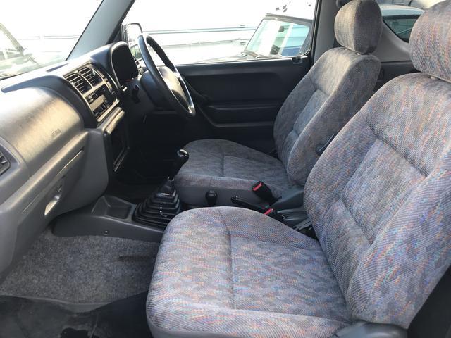 4WD ターボ 5速マニュアル 車検整備付き キーレス(8枚目)
