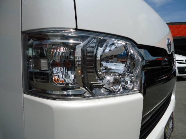 トヨタ ハイエースバン スーパーGL ダークプライム アルミ ローダウン LED