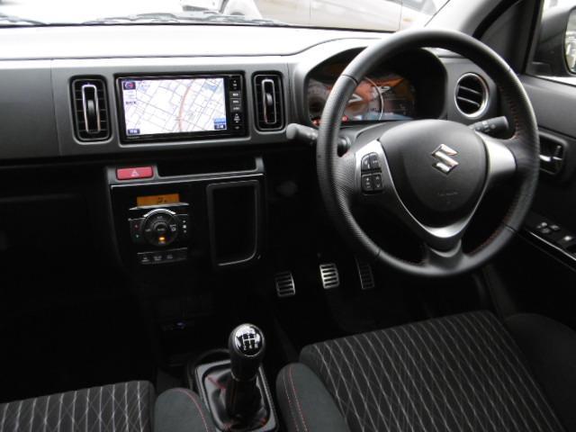 スズキ アルトワークス 4WDターボ 地デジフルセグワイドナビ 音声タイプETC