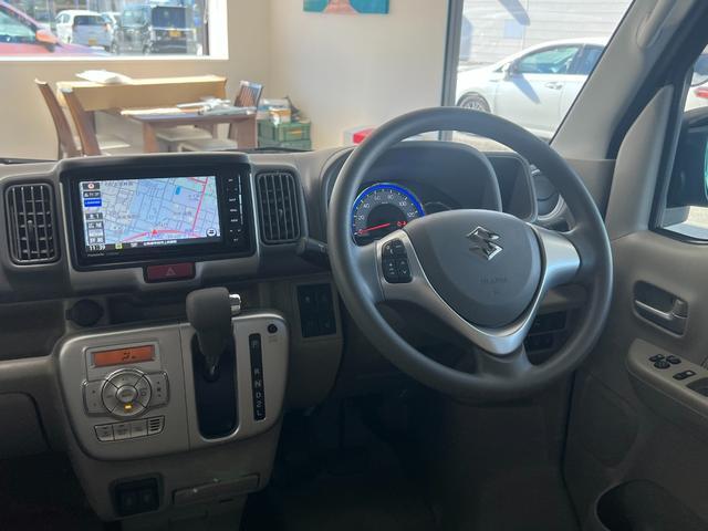 スズキ エブリイワゴン PZターボ 地デジフルセグナビ ETC 電動スライドドア