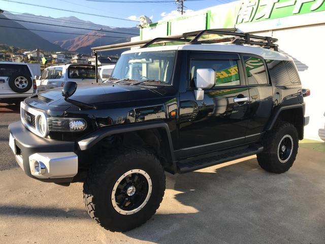 「トヨタ」「FJクルーザー」「SUV・クロカン」「長野県」の中古車12