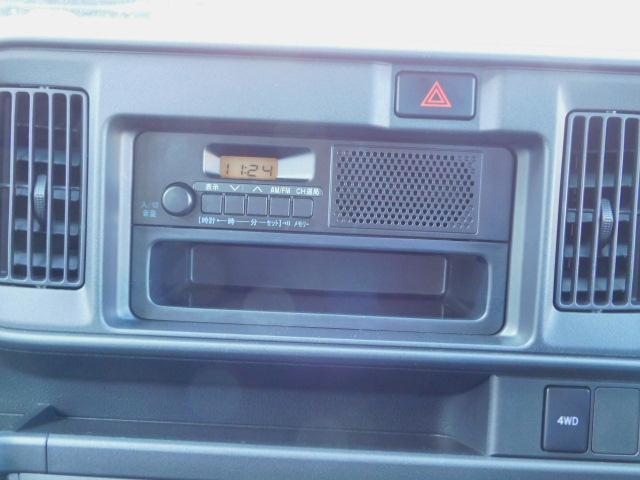 なんと!このラジオはAMだけでなく、FMも聴けるんですよ!