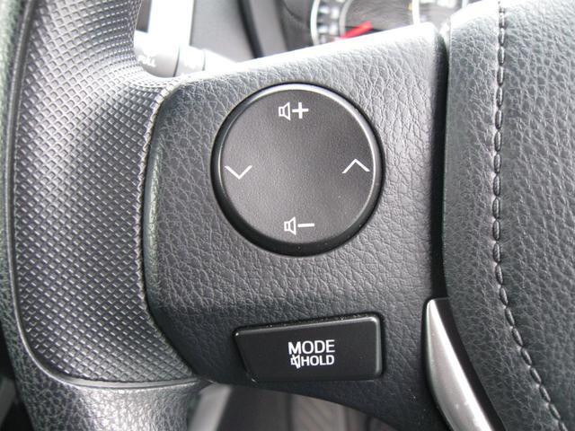 ステアリングスイッチがついているので、ハンドルから手を離さずに音量調節やオーディオ操作ができます♪