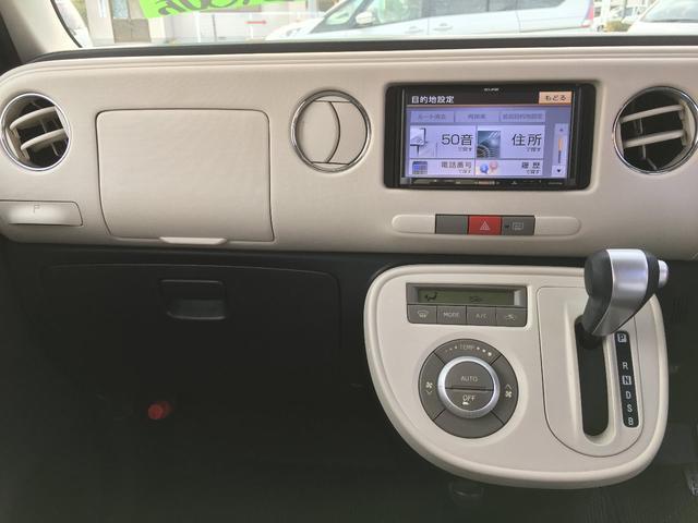ココアX メモリーナビ ワンセグ キーフリーシステム ルーフレールレス 車検令和3年4月(11枚目)