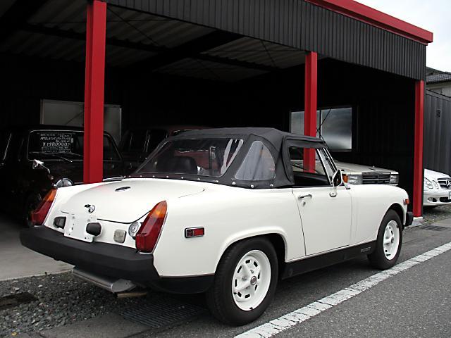 MG MG ミゼット 1500 オープン 左H ディーラー車