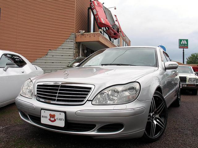 S350 後期 左H 黒本革 19アルミ(4枚目)