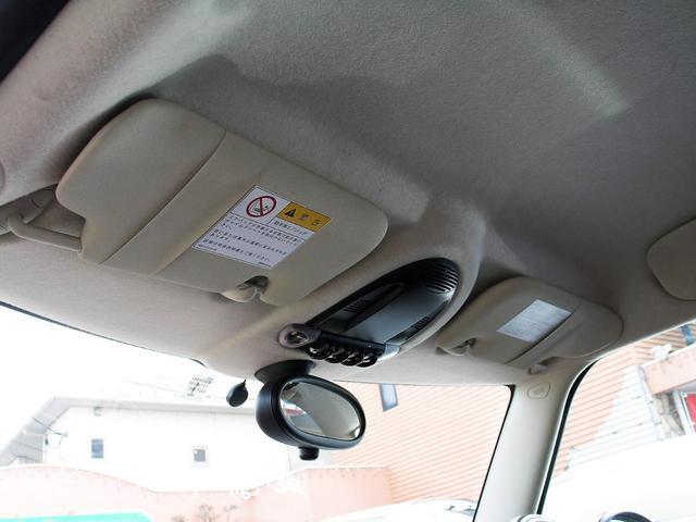 クーパー クラブマン OZ17インチブラックアルミ ダウンサス 新品ブラックレザー/レッドステッチパイピングシートカバー ボンネットクーパーストライプ レッドチェッカードアミラー Bluetoothトランスミッター(48枚目)