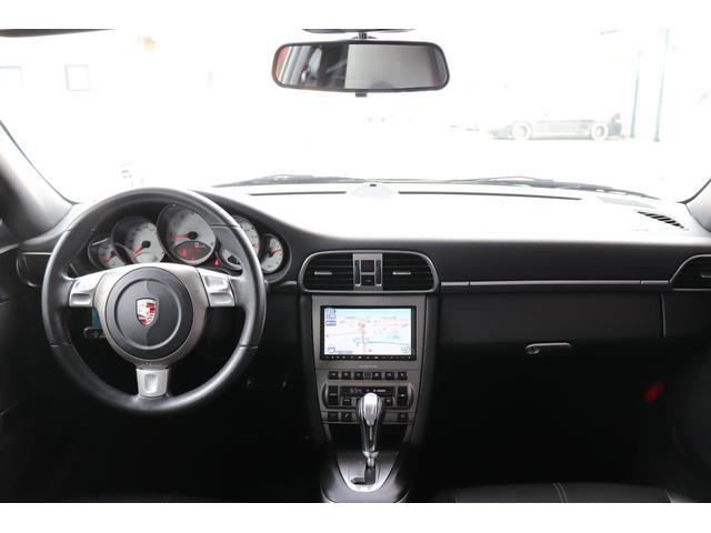 911カレラS ディーラー車 記録簿 PASM(ポルシェアクティブサスペンションマネージメント) レッドキャリパー ブラックレザー 純正ナビ アルカンターラルーフラインイング(10枚目)