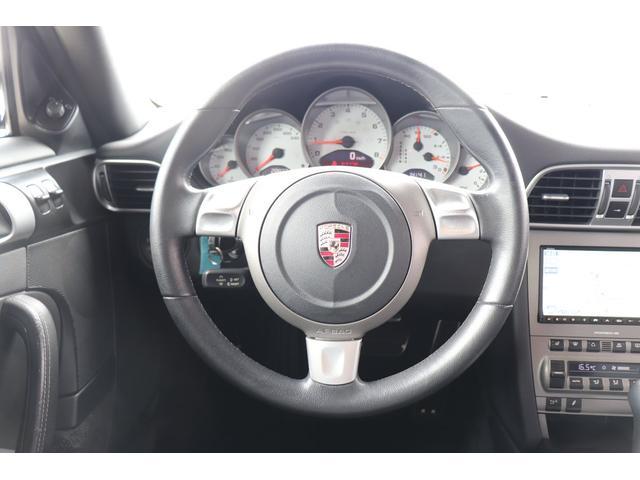 911カレラS ディーラー車 記録簿 PASM(ポルシェアクティブサスペンションマネージメント) レッドキャリパー ブラックレザー 純正ナビ アルカンターラルーフラインイング(11枚目)