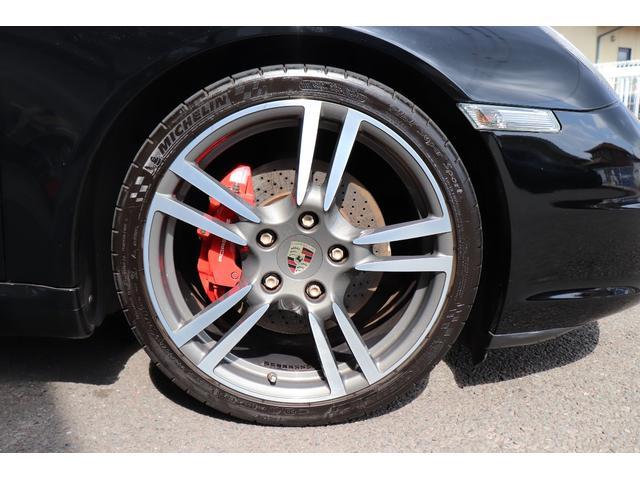 911カレラS ディーラー車 記録簿 PASM(ポルシェアクティブサスペンションマネージメント) レッドキャリパー ブラックレザー 純正ナビ アルカンターラルーフラインイング(19枚目)