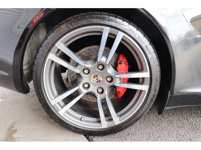 911カレラS ディーラー車 記録簿 PASM(ポルシェアクティブサスペンションマネージメント) レッドキャリパー ブラックレザー 純正ナビ アルカンターラルーフラインイング(40枚目)