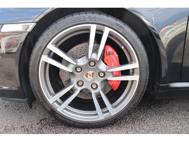 911カレラS ディーラー車 記録簿 PASM(ポルシェアクティブサスペンションマネージメント) レッドキャリパー ブラックレザー 純正ナビ アルカンターラルーフラインイング(80枚目)