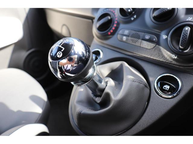 マヌアーレ 1オーナー ディーラー車 限定車 禁煙車 ETC ドライブレコーダー 5速マニュアル ステアリングスイッチ ハーフレザーシート Uconnect(52枚目)