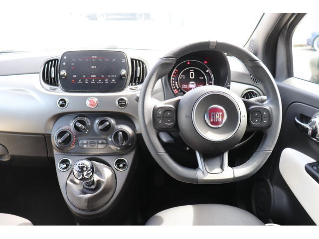 マヌアーレ 1オーナー ディーラー車 限定車 禁煙車 ETC ドライブレコーダー 5速マニュアル ステアリングスイッチ ハーフレザーシート Uconnect(57枚目)