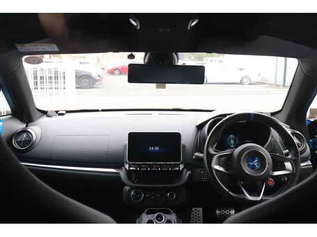 ピュア LEDヘッドライト シーケンシャルウインカー レザーステアリング TFTメーター パーキングセンサー リアカメラ 純正18インチAW ミラー型ドライブレコーダー レースチップ H&Rダウンサス(10枚目)