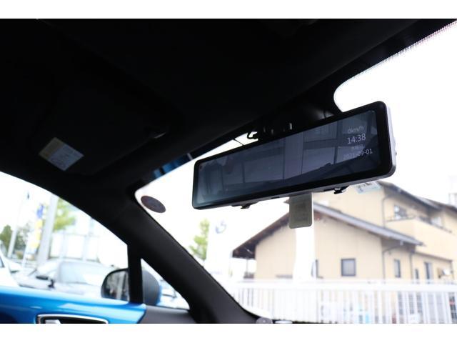 ピュア LEDヘッドライト シーケンシャルウインカー レザーステアリング TFTメーター パーキングセンサー リアカメラ 純正18インチAW ミラー型ドライブレコーダー レースチップ H&Rダウンサス(66枚目)
