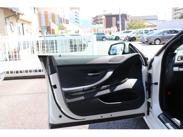 640iグランクーペ Mスポーツパッケージ 純正ナビ TVフルセグ バックカメラ 黒革シート シートヒーター コンフォートアクセス ドライビングアシスト 電動チルトサンルーフ ローダウン 社外マフラー LEDヘッドライト リアローラブラインド(28枚目)
