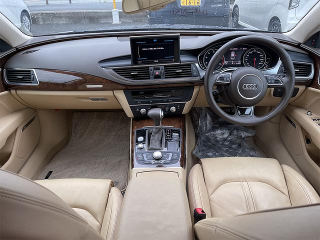 3.0TFSIクワトロ V6スーパーチャージャー 4WD BOSEサウンドシステム 純正インダッシュHDDナビ フルセグ バックカメラ 本革 シートヒーター オートスポイラー パドルシフト オートトランク(2枚目)