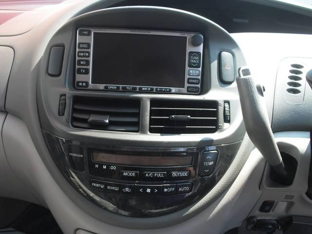 トヨタ エスティマハイブリッド Gセレクション 4WD ナビ パワースライド