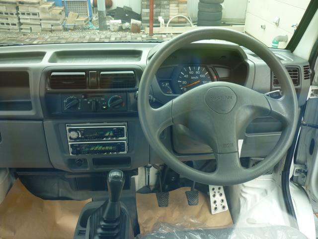 日産 クリッパートラック SD エアコン エアバッグ 三方開