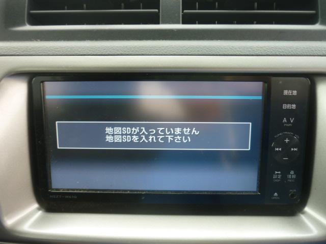 トヨタ bB Z エアロ-Gパッケージ 純正メモリーナビ フルセグ HID