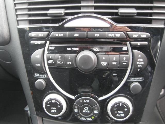 マツダ RX-8 ベースグレード DVDナビ パドルシフト