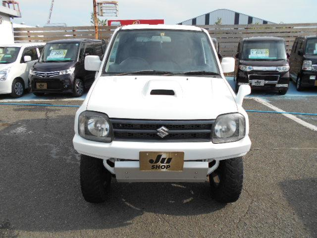XG AT 6型 リフトアップ 社外マフラー バンパー リフトUP ABS PW ターボ車 AC キーレス フルセグTV SDナビ エアバック 切替4WD DVD再生 Wエアバッグ(2枚目)