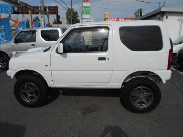 XG AT 6型 リフトアップ 社外マフラー バンパー リフトUP ABS PW ターボ車 AC キーレス フルセグTV SDナビ エアバック 切替4WD DVD再生 Wエアバッグ(5枚目)