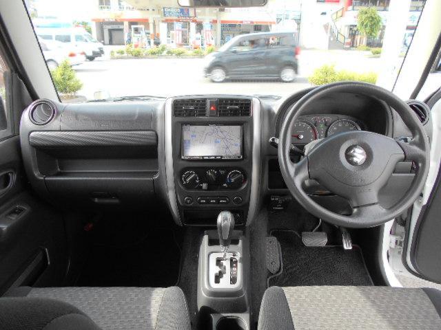 XG AT 6型 リフトアップ 社外マフラー バンパー リフトUP ABS PW ターボ車 AC キーレス フルセグTV SDナビ エアバック 切替4WD DVD再生 Wエアバッグ(11枚目)