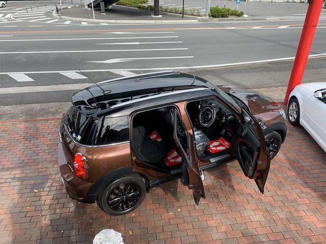クーパーS クロスオーバー オール4 ターボ車 4WD カッロツェリアHDDナビ フルセグ Bluetooth ETC車載器 バックカメラ キセノンライト 17インチアルミ 5人乗り(11枚目)