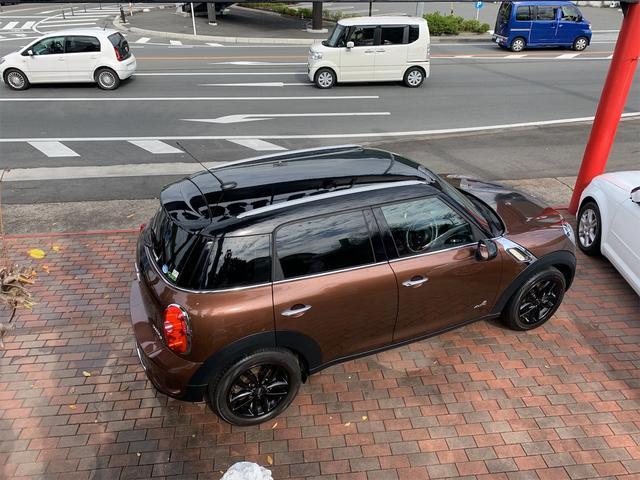 クーパーS クロスオーバー オール4 ターボ車 4WD カッロツェリアHDDナビ フルセグ Bluetooth ETC車載器 バックカメラ キセノンライト 17インチアルミ 5人乗り(12枚目)