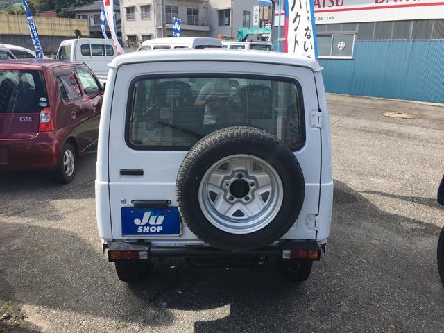スズキ ジムニー 新品タイヤ 新品クラッチ エアコン パワステ 5速MT