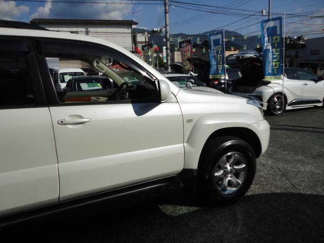 「トヨタ」「ランドクルーザープラド」「SUV・クロカン」「山梨県」の中古車4