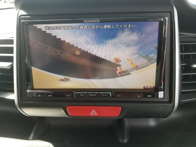 G ターボSSパッケージ 左右Pスラ ガイAW&ナビTV&Bモニター&リヤモニター ETC HID 黒革調シートカバー(16枚目)