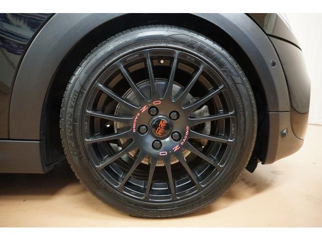 クーパーS 新品H&Rダウンサス・OZスーパーツーリズモGTマッドブラック17AW・アクティブクルーズコントロール・インテリジェントセーフティー・パーキングアシスト・LEDヘッドライト・純正HDDナビ(14枚目)