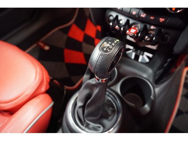 クーパーS クーパーS(4名) サンダーグレーメタリック 17AW 赤革シートカバー スマートキー アイドリングストップ 純正HDDナビ ETC(31枚目)