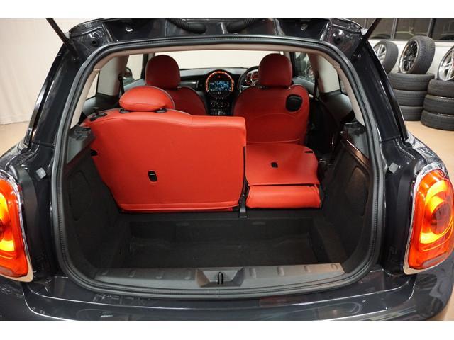 クーパーS クーパーS(4名) サンダーグレーメタリック 17AW 赤革シートカバー スマートキー アイドリングストップ 純正HDDナビ ETC(49枚目)