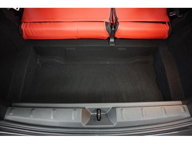 クーパーS クーパーS(4名) サンダーグレーメタリック 17AW 赤革シートカバー スマートキー アイドリングストップ 純正HDDナビ ETC(51枚目)