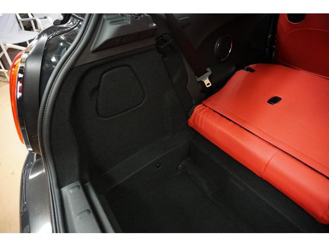 クーパーS クーパーS(4名) サンダーグレーメタリック 17AW 赤革シートカバー スマートキー アイドリングストップ 純正HDDナビ ETC(52枚目)