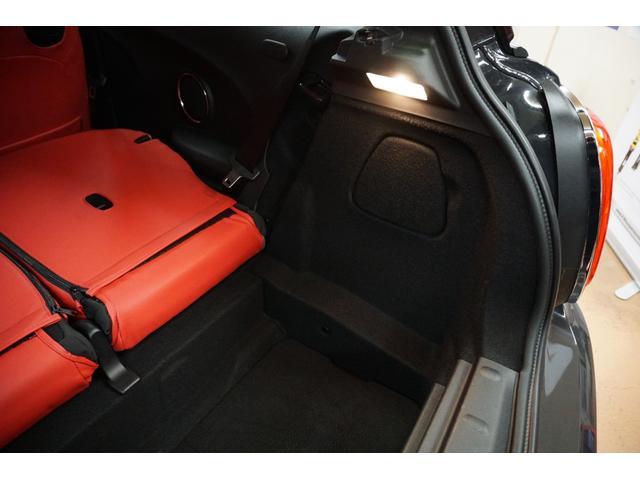 クーパーS クーパーS(4名) サンダーグレーメタリック 17AW 赤革シートカバー スマートキー アイドリングストップ 純正HDDナビ ETC(53枚目)