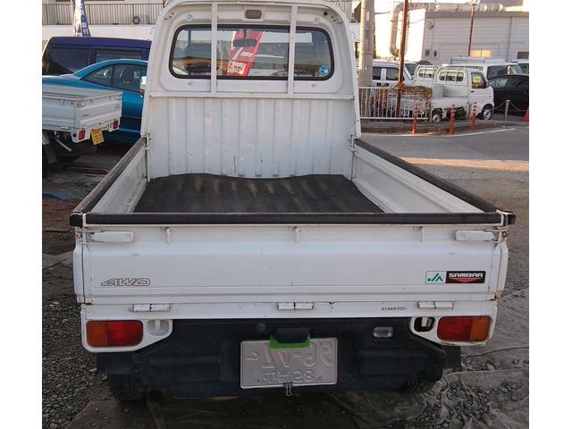 「スバル」「サンバートラック」「トラック」「山梨県」の中古車4