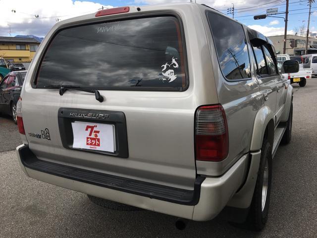 トヨタ ハイラックスサーフ SSR-X ワイドボデー 4WD HDDナビ ETC アルミ
