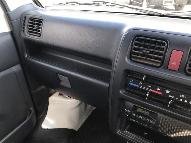 スズキ キャリイトラック 4WD エアコン パワステ ワンオーナー 5速マニュアル