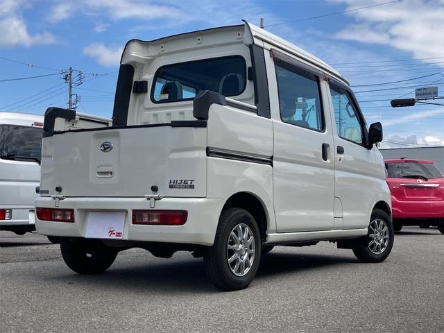 デッキバン 4WD 5速マニュアル 走行距離30540キロ エアコン パワーステアリング 両側スライドドア 保証付き 12インチアルミホイール(12枚目)