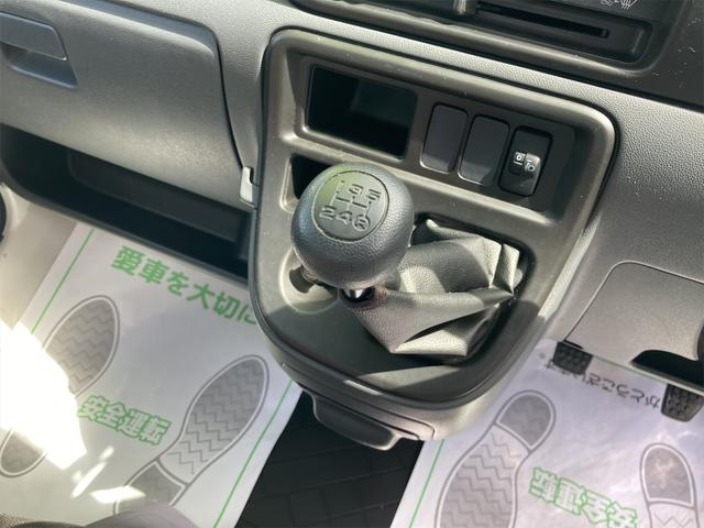 デッキバン 4WD 5速マニュアル 走行距離30540キロ エアコン パワーステアリング 両側スライドドア 保証付き 12インチアルミホイール(34枚目)