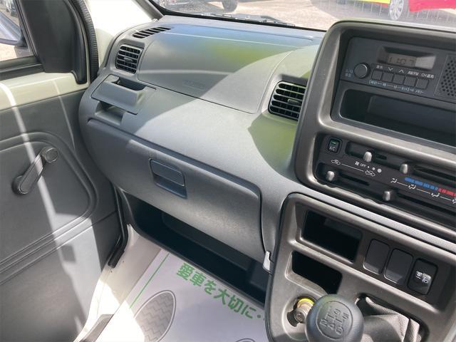 デッキバン 4WD 5速マニュアル 走行距離30540キロ エアコン パワーステアリング 両側スライドドア 保証付き 12インチアルミホイール(38枚目)